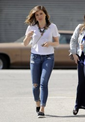 Sophia Bush - Out in LA 3/26/14