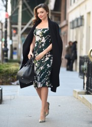 Miranda Kerr - Out in NYC 3/26/14