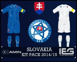 FIFA 14 SLOVAKI KIT PACK 2014/15 by amin2244