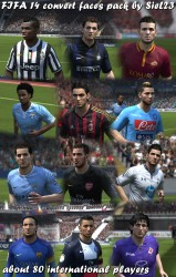 FIFA 14 Convert Faces Pack by SieL23