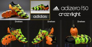 Download Adidas adizero F50 Crazylight TRX FG - Slime/Zest/Black by Ron69