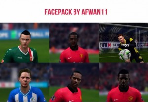 Facepack FIFA 14 - Release by afwan11