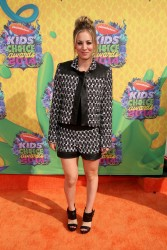 Kaley Cuoco - Nickelodeon's 27th Annual Kids' Choice Awards 3/29/14
