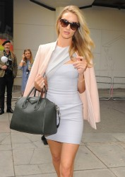 Rosie Huntington-Whiteley - At the 2014 Vogue Festival in London 3/30/14