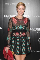 "Nicky Hilton - ""Captain America: The Winter Soldier"" Screening in NYC 3/31/14"
