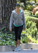 Stacy Keibler - Jogging in LA 4/1/14