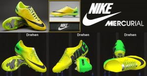 Download PES 2014 Nike Mercurial Vapor IX ACC FG Vibrant by Ron69