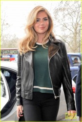 Kate Upton - Promoting 'The Other Woman' in London 4/3/14