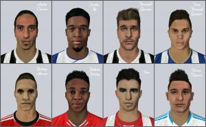 FIFA 14 Facepack 2 by DizzeeSpellz