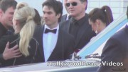 Nina & Ian Arrive to Elton Johns Oscar Viewing Party (February 24) 43136e319331005