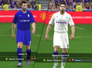 Download Esteghlal Tehran ACL 2014 Home & Away Kit by Asar