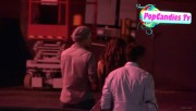 Nina & Derek Hough Holding hands while hiding from Paparazzi at The Roosevelt LA (October 5) 936082319507880