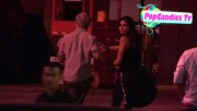 Nina & Derek Hough Holding hands while hiding from Paparazzi at The Roosevelt LA (October 5) Eaebac319508000
