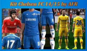 Download PES 2013 Chelsea FC 14-15 GDB Kits by AFR
