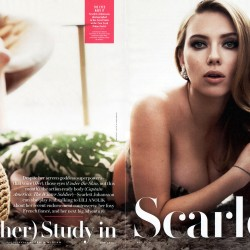 scarlett johansson vanity fair french