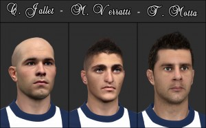 Download PES 2014 PSG Mini Facepack by Tunizizou