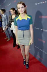 Zoey Deutch - Zooey Deschanel and Tommy Hilfiger Debut New Capsule Collection in West Hollywood 4/9/14