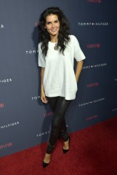 Angie Harmon - Zooey Deschanel and Tommy Hilfiger Debut New Capsule Collection in West Hollywood 4/9/14