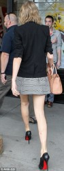 Taylor Swift - Leaving her apartment in NYC 4/11/14