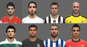 Download PES 2014 Face Pack № 6 by miguelrioave