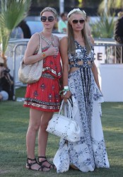 Paris & Nicky Hilton - 2014 Coachella Music Festival: Day One 4/11/14