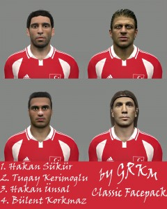 Download PES 2014 Classic Turkey Facepack by Grkm
