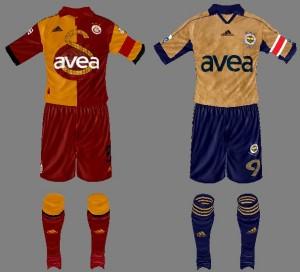 Galatasaray & Fenerbahçe 100th Year Anniversary Kit FIFA 14