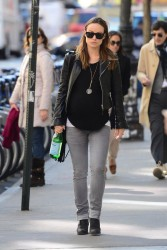 Olivia Wilde walking in New York City, April 10th, 2014