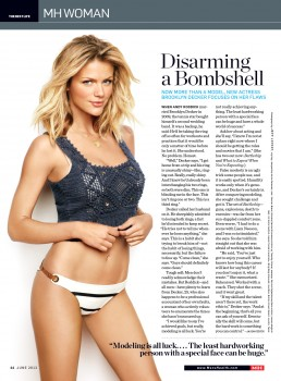 Brooklyn Decker Mens Health June '12