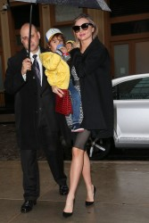 Miranda Kerr - Out in NYC 4/15/14