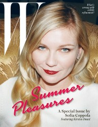 Kirsten Dunst in W Magazine's Summer Pleasures Issue