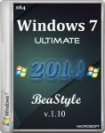 Windows 7 Ultimate Office 2013 BeaStyle v.1.10 (x86/x64/RUS/2014)