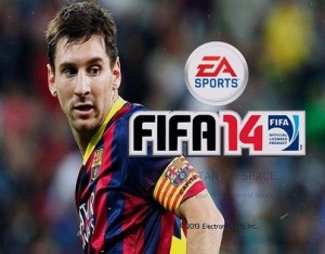 FIFA14 LIONEL MESSI BACKGROUND by Lionel Rownok