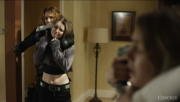 Sammi Hanratty caps from Crackle Series Chosen and showing midriff.