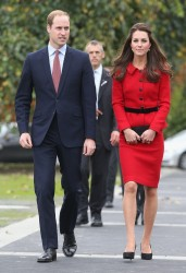 Catherine, Duchess of Cambridge - Australia and New Zealand Tour (Day 8) 4/14/14