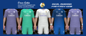 Download PES 2014 Real Madrid Fantasy GDB Kits by Onur Cetin