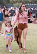 Alessandra Ambrosio - at the 2014 Coachella Music Festival - 04/19/14