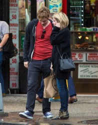 Emma Roberts - Shopping in NYC 4/22/14