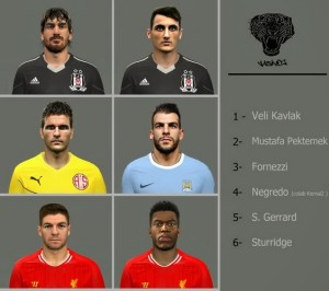 Download PES 2014 Facepack Vol 1 by Yasin02