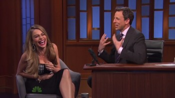 SOFIA VERGARA - Late Night 04.23.14