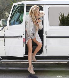 Ashley Tisdale - Out in LA 4/23/14