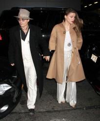 Amber Heard - 'Cabaret' Opening Night in NYC 4/24/14