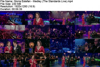 Gloria Estefan Feat. Dave Koz - Medley (The Standards Live 2013) 1920x1080