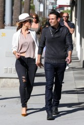 Maria Menounos - Shopping in Beverly Hills 4/26/14