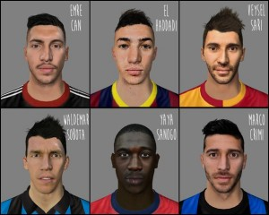 FIFA 14 Facepack by afwan11