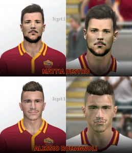 Download Mattia Destro and Alessio Romagnoli Faces by kpt1