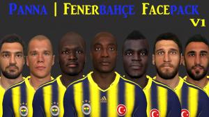 Download PES 2014 Fenerbahçe Facepack V1 by Panna
