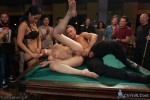 Lily LaBeau gets played in raunchy Pool Hall - Kink/ PublicDisgrace (2014/ SiteRip)