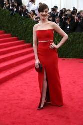 Anne Hathaway - 2014 Met Gala in NYC 5/5/14