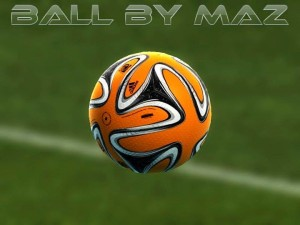 Download PES 2013 Adidas Fifa World Cup Brazuca Winter Ball by MAZ
